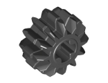 Technic, Gear 12 Tooth Double Bevel, Black (32270 / 4177431)