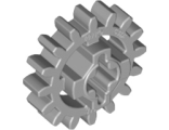 Technic, Gear 16 Tooth (New Style Reinforced), Light Bluish Gray (94925 / 4640536)