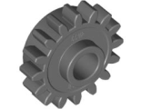 Technic, Gear 16 Tooth with Clutch, Smooth, Dark Bluish Gray (6542b / 4237267)