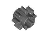 Technic, Gear 8 Tooth Type 1, Dark Bluish Gray (3647 / 4514559)