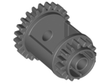 Technic, Gear Differential, 24-16 Teeth, Dark Bluish Gray (6573 / 4211023 / 6573199)