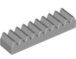 Technic, Gear Rack 1 x 4, Light Bluish Gray (3743 / 4211450)