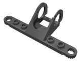 Technic, Steering Rack Top, Black (2792)