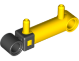 Pneumatic Cylinder with 2 Inlets Small (32mm), Yellow (x189c01 / 4625540 / 6005292)