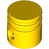 Technic Engine Piston Round, Yellow (2851 / 285124 / 4112203)