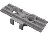 Technic, Link Tread Wide with Two Pin Holes, Dark Bluish Gray (57518 / 4494517 / 4566742)