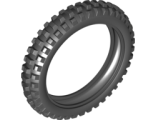 Tire 100.6mm D. Motorcycle, Black (11957 / 6021952)