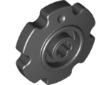 Technic Tread Sprocket Wheel Small, Black (57520 / 4494519 / 4544527 / 4662228)