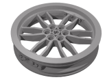 Wheel 75mm D. x 17mm Motorcycle, Dark Bluish Gray (88517 / 4568006)