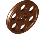 Technic Wedge Belt Wheel (Pulley), Brown (4185)