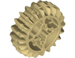 Technic, Gear 20 Tooth Double Bevel, Tan (32269 / 4514555 / 6084724)
