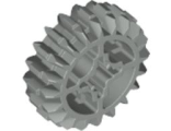 Technic, Gear 20 Tooth Double Bevel, Light Gray (32269 / 4141455)