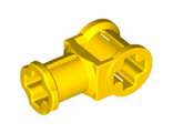 Technic, Axle Connector with Axle Hole, Yellow (32039 / 3203924 / 4107800)