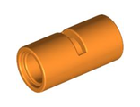 Technic, Pin Connector Round 2L with Slot  Pin Joiner Round , Orange (62462 / 4538144)