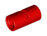 Technic, Pin Connector Round 2L with Slot Pin Joiner Round, Red (62462 / 4526984 / 6173126)