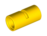 Technic, Pin Connector Round 2L with Slot Pin Joiner Round, Yellow (62462 / 4526983 / 6173122)