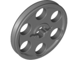 Technic Wedge Belt Wheel (Pulley), Dark Bluish Gray (4185 / 4587275)