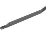 Technic Rotor Blade Large with 3L Liftarm Thick and Black Rubber Tip, Dark Bluish Gray (99013pb01 / 4651822 / 6129007)
