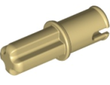 Technic, Axle Pin without Friction Ridges Lengthwise, Tan (3749 / 4186017 / 4666579 / 65625)