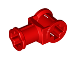 Technic, Axle Connector with Axle Hole, Red (32039 / 4118897)