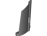 Technic, Panel Fairing #21 Large Long, Small Hole, Side B, Black (44351 / 4296203)