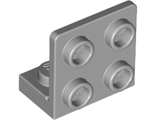 Bracket 1 x 2 - 2 x 2 Inverted, Light Bluish Gray (99207 / 4654580)