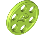 Technic Wedge Belt Wheel (Pulley), Lime (4185 / 4494219)