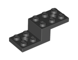 Bracket 5 x 2 x 1 1/3 with 2 Holes, Black (11215 / 6039194)
