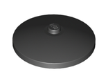 Dish 4 x 4 Inverted Radar with Solid Stud, Black (3960 / 396026)