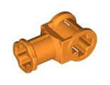 Technic, Axle Connector with Axle Hole, Orange (32039 / 4144294 / 4252466)