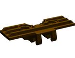 Technic, Link Tread Wide with Two Pin Holes, Dark Brown (57518 / 6003879)