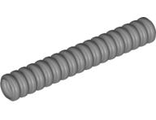 Hose, Ribbed 7mm D.  7L, Flat Silver (78c07 / 4141522 / 4495203 / 6083456)