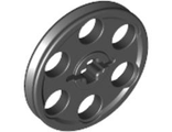 Technic Wedge Belt Wheel (Pulley), Black (4185 / 418526 / 4198635 / 4494225 / 4648532 / 6192130)