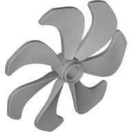 Propeller 7 Blade 6 Diameter, Pearl Light Gray (87751 / 4563481)
