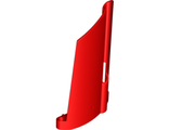 Technic, Panel Fairing #21 Large Long, Small Hole, Side B, Red (44351 / 4205039 / 4277117)