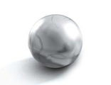 Bionicle Zamor Sphere Ball, Pearl Light Gray (54821 / 4494056)