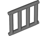 Bar 1 x 4 x 3 Grille with End Protrusions, Dark Bluish Gray (62113 / 4521886)