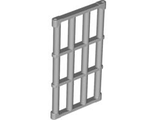 Bar 1 x 4 x 6 Grille with End Protrusions, Light Bluish Gray (92589 / 4599496)