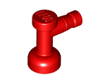 Tap 1 x 1 without Hole in Nozzle End, Red (4599b / 459921)