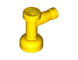 Tap 1 x 1 without Hole in Nozzle End, Yellow (4599b / 4256320)