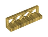 Fence 1 x 4 x 1, Pearl Gold (3633 / 4536675)