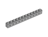 Technic, Brick 1 x 12 with Holes, Light Bluish Gray (3895 / 4211860)