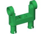 Technic, Pin Connector Toggle Joint Smooth Double with 2 Pins, Green (48496 / 4225729)