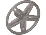 Wheel Cover 5 Spoke without Center Stud - 35mm D. - for Wheels 54087, 56145 or 44292, Flat Silver (54086 / 4494057)