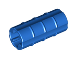 Technic, Axle Connector 2L Ridged with x Hole x Orientation, Blue (6538b / 4113807 / 653823)