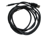 Electric, Cable USB for Mindstorms EV3, USB A-Type Male to USB Mini-b 5-Pin Male Length 2 meters/6 Feet, Black (10916 / 6036901)