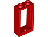 Window 1 x 2 x 3 Flat Front, Red (60593 / 4536340 / 6132807)