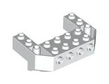Train Front Sloping Base with 4 Studs, White (87619 / 4560938)