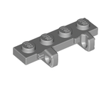 Hinge Plate 1 x 4 Locking Dual 1 Fingers on Side, Light Bluish Gray (44568 / 4211840)