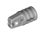 Hinge Cylinder 1 x 2 Locking with 1 Finger and Axle Hole on Ends with Slots, Light Bluish Gray (30552 / 4211679)